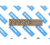 Сверло 5,0 мм ц/х по металлу нитрид титана класс А